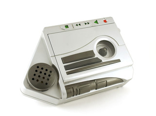 Old music player (magnetophone)