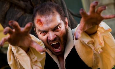 Evil male vampire