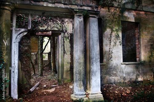 derelict ruin