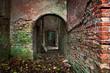 old brick ruin