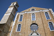 Venice - San Murano island - facade of old church