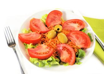 Piatto d'insalata