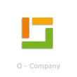 Sticks Logo initial letter O # Vector