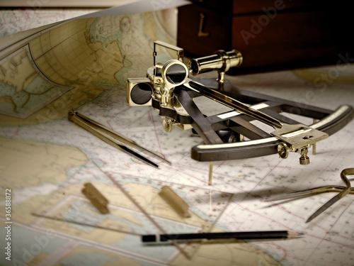 Leinwandbild Motiv See Navigation 2