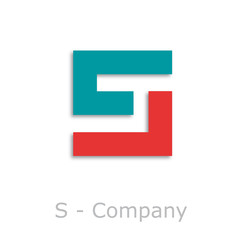 Sticks Logo initial letter S # Vector