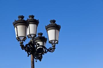 Retro street-lamp