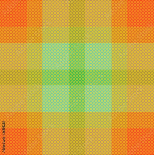 Color fabric plaid. Seamless vector illustration.