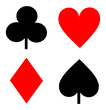 Playing cards signs