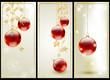 Set di tre banner natalizi - Christmas headers
