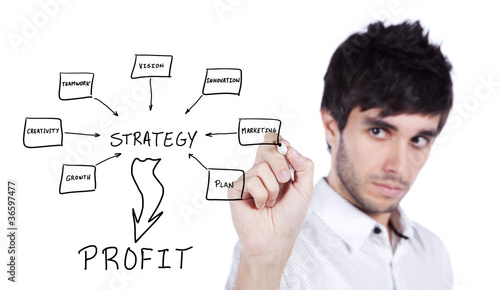 Strategy business plan to profit