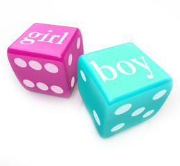 Roll the Dice -  Deliver Boy or Girl Baby in Pregnancy