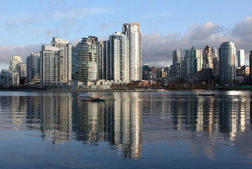 Yaletown, False Creek Vancouver Morning