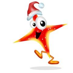 stella natalizia rossa