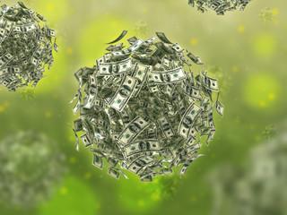 Money virus (business concept)