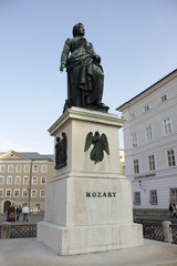 Statue of Wolfgang Amadeus Mozart