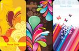 fondos abstractos en color
