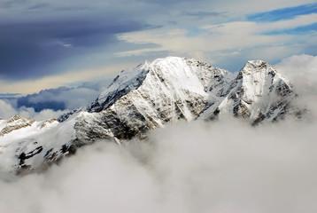 caucasus mountains panorama / landscape