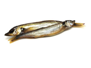 smoked capelin fish