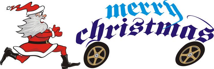 chasing christmas santa