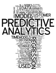 "Word Cloud ""Predictive Analytics"""