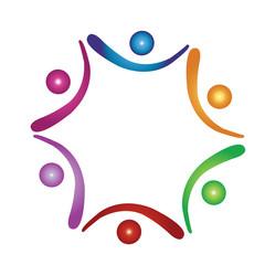 Teamwork figures logo
