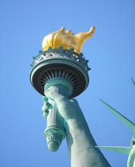 Flamme de la statue de la liberté