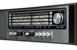 nostalgic radio display poster