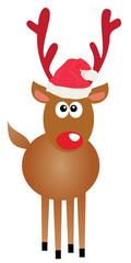 vector rudolf reindeer