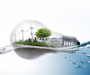 Idea ,light bulb