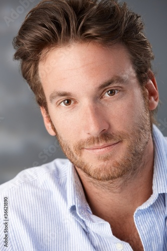 Handsome mid-adult man portrait