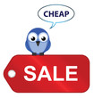Comical sale items going cheap