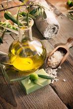 Spa naturel avec réglage de produits de l'olivier
