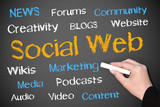 Social Web - Community and News Concept