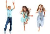 Fototapety children jumping