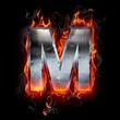 Hot metal letter