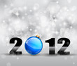 Colorful New Year Celebration Background with Glitter a