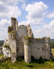 Castle in Mirow, Poland