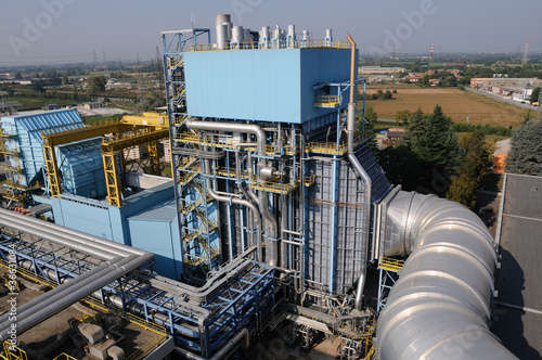 Power plant gas turbine and steam generator
