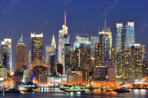 Plakat New York City Skyline