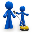 Concrete Cleaners 3d Blue Men Pressure Washer