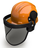 Landscaping Hard Hat with Visor Combo
