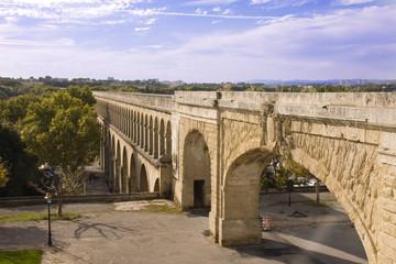 Roman aquaduct in Montpellier