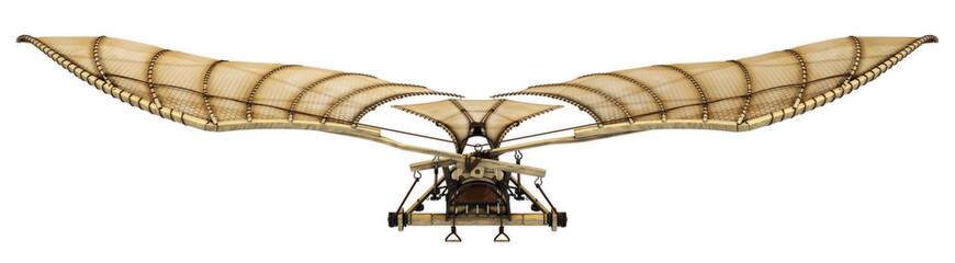 3d Da Vinci Ornithopter Flying Machine