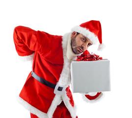 Babbo Natale stanco