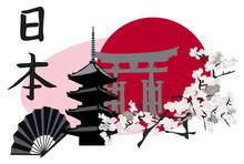 Symboles japonais