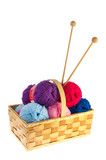Wool for needlework poster