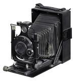 nostalgic folding camera poster