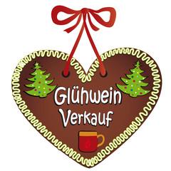 """Lebkuchen """"Glühwein Verkauf"""""""