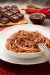 spaghetti al cioccolato