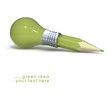 Light bulb, Pencil, and Good idea.